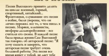 Интересны ли песни Высоцкого современным детям?