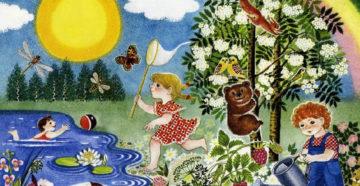 Детские книги весны и лета