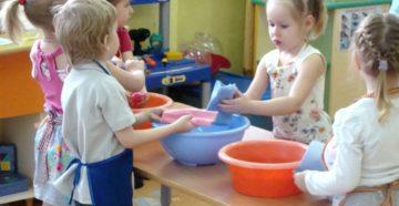 Организация быта с дошкольником и грудничком