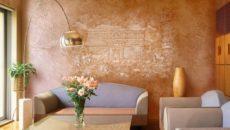 Отделка стен: краски, декоративные штукатурки и панели