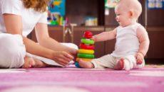 Как играть с 5-месячным малышом