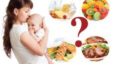 Питание и диета кормящей мамы
