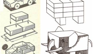 Поделки из спичечных коробков – для мальчиков и девочек