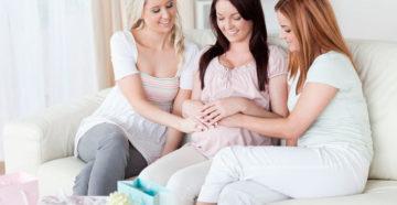 Беременность и бездетные подруги