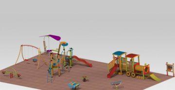 Классификация детских площадок по видам применяемых материалов