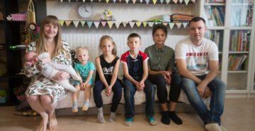 История приемной семьи Попелко