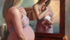 Беременность в живописи
