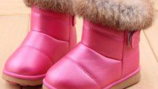 Самая теплая зимняя обувь для мам и детей