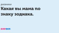 Вы – мама «по умолчанию»?