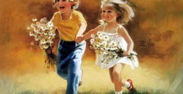 Счастливое детство или прекрасное будущее?