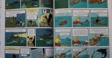Комиксы на виражах: приключения Тинтина
