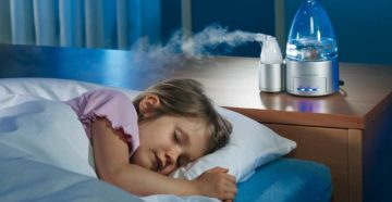 Увлажнитель воздуха в семье с ребенком: зачем?