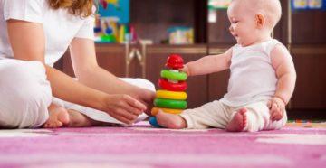 Забавы и игры для малышей 6-9 месяцев