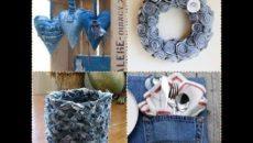 Что можно сделать со старыми джинсами?