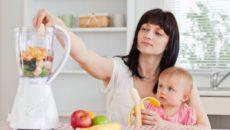 Питание женщины во время лактации