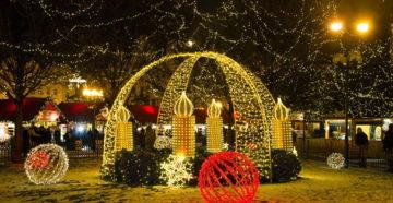 Зимние праздники в Германии. Праздник фонариков, Рождество и Новый Год