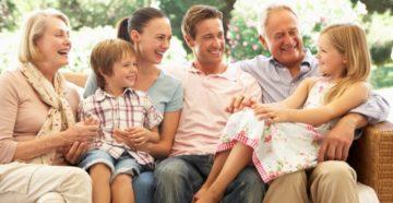История счастливой семьи